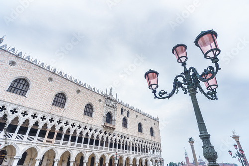Fototapete Doge's Palace on San Marco square, Venice, Italy