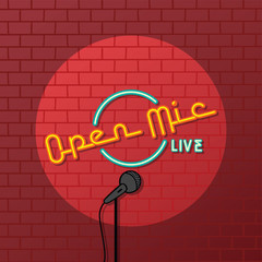stand up comedy open mic