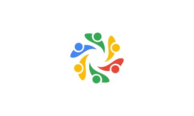 People, Teamwork Logo Vector