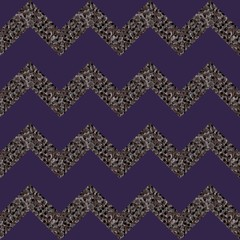 Zigzag seamless geometric pattern. Paper, wallpaper, print for fabric. Fashionable vector illustration.