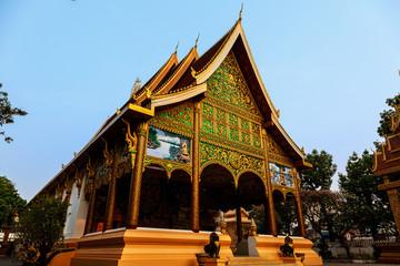 inpeng temple vientiane laos
