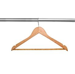 cloth hanger ti shirt wite fashion