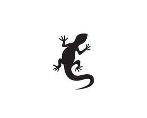 Fototapeta premium Jaszczurka wektor ikona logo i szablon symboli
