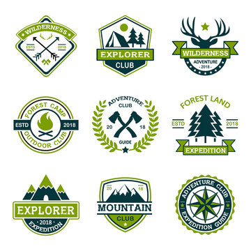 Adventure Explorer Logo Collection