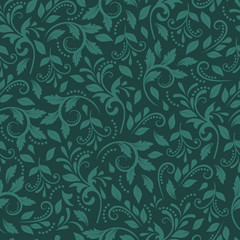Vintage decorative pattern. Elegant ornament in the Baroque style for Wallpaper, textiles, packaging. Vector vintage background.