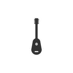 guitar icon. Detailed icon of musical instrument icon. Premium quality graphic design. One of the collection icon for websites, web design, mobile app
