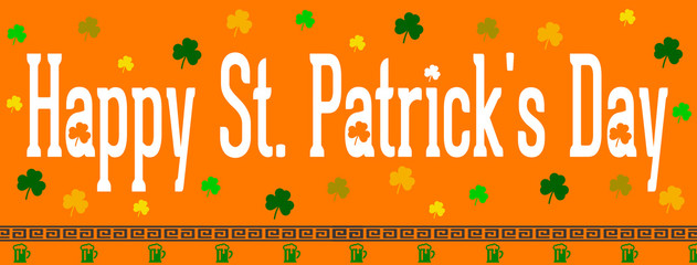 Happy St. Patrick's Day march 17