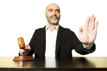 auction  bid sale judgment mallet and judge man