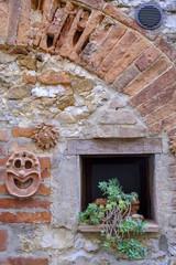 Trequanda, Siena, old village