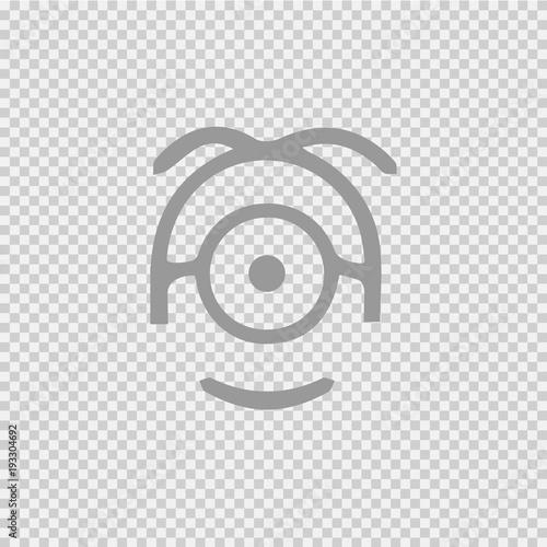Minion vector icon eps 10.