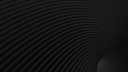 abstract Illustration. luxurious black line background