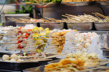 traditional fastfood selling in Chinese restaurant