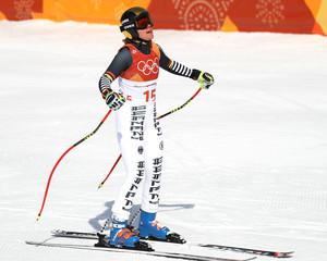 Olympics: Alpine Skiing-Womens Downhill