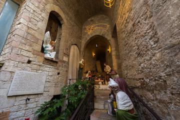 Assisi, presepe