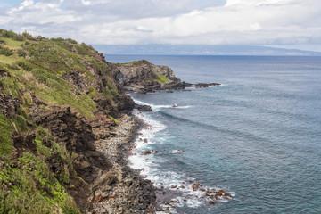 Scenic North Maui Coastline
