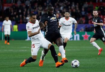Champions League Round of 16 First Leg - Sevilla vs Manchester United