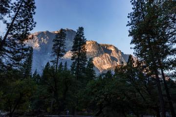 Yosemite Valley at sunrise.