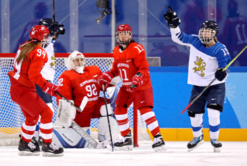 Olympics: Ice Hockey-Women Team Bronze medal match - FIN-OAR