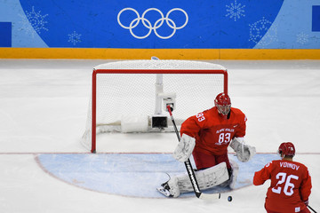 Olympics: Ice Hockey-Men Team Quarterfinal - OAR-NOR