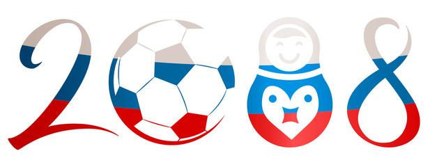 2018 soccer logo