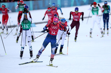 Olympics: Cross Country Skiing