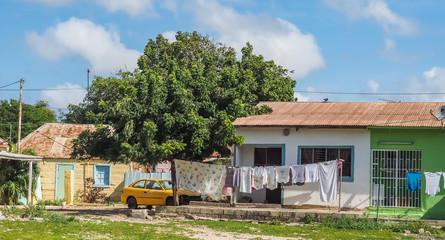Walking around Penstraat street   Curacao views