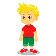 Boy vector cartoon