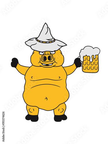 Saufen Trinken Durst Bier Krug Maß Alkohol Oktoberfest Party