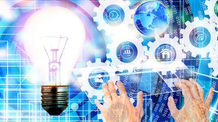 E-business cyber technology