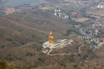 Golden Buddha in Lopburi Province