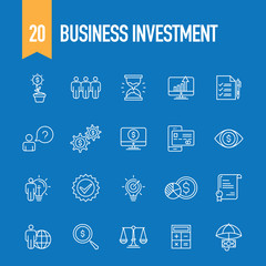 BUSINESS INVESTMENT CONCEPT