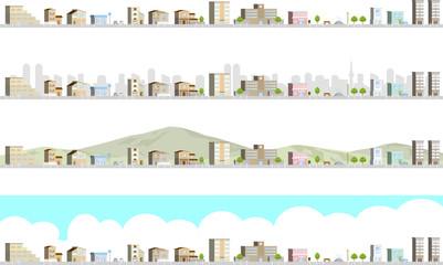 街並み 立体 セット
