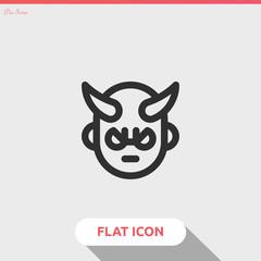 devil vector icon