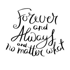 Inspirational vector hand drawn quote. Ink brush lettering isolated on white background. Motivation saying for cards, posters and t-shirt