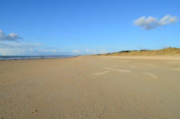 La plage de Lingreville (La Manche - France)