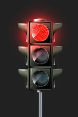 Vector Traffic Lamp Design