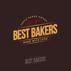 The bakery logo. Bakery emblems.