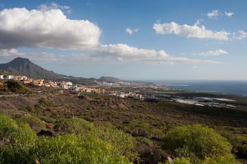 Coastal Tourism area, Tenerife, Spain