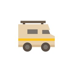 Camping & adventure icons - RV