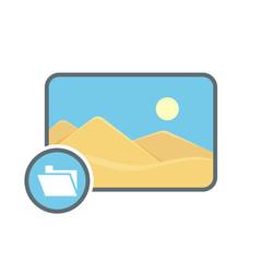 Folder image photo photography picture icon