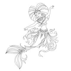 african american mermaid