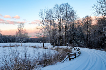 Fresh Snow This Morning