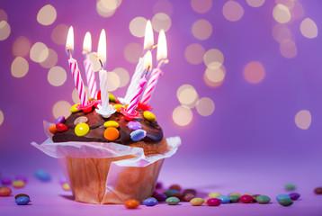 Kuchen - Geburtstag - Jubiläum - Kerzen