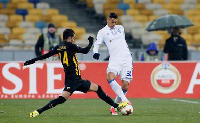 Europa League Round of 32 Second Leg - Dynamo Kiev vs AEK Athens