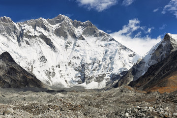 Lhotse peak views
