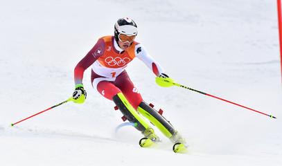 Olympics: Alpine Skiing
