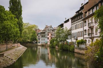 Streets of strasbourg travel europe walking in oldtown