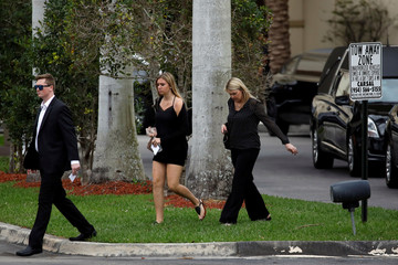 Mourners leave funeral service of mass shooting victim Feis in Coral Springs