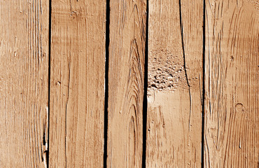 Brown color wooden fence pattern.