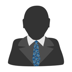 Default avatar profile icon. Grey photo placeholder
